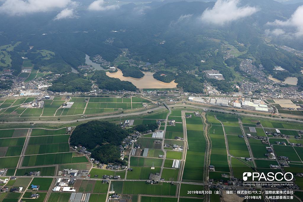 佐賀県武雄市北方町: 武雄市北方町の溜池群 下流の焼米池の汚濁が顕著
