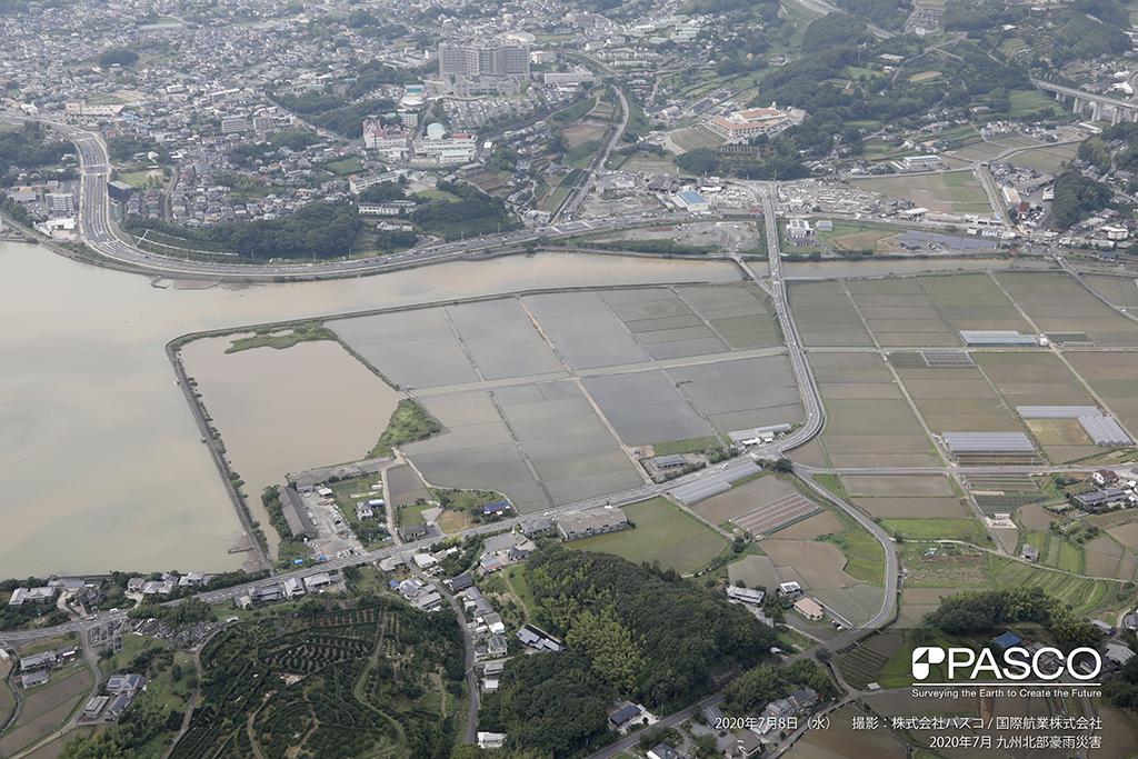 長崎県大村市陰平町付近(河口付近)